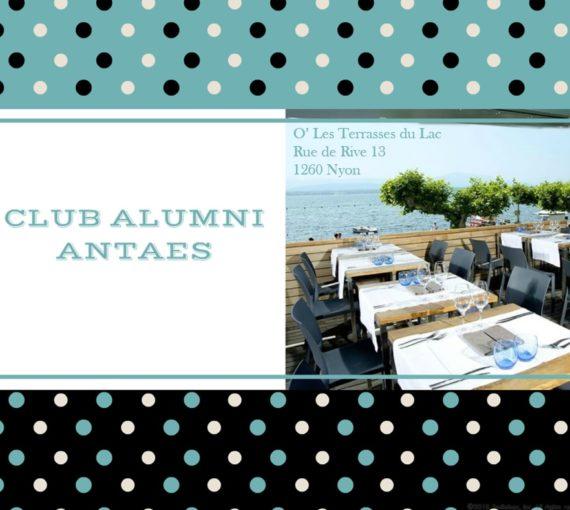 Le Club Almuni Antaes a réouvert ses portes !
