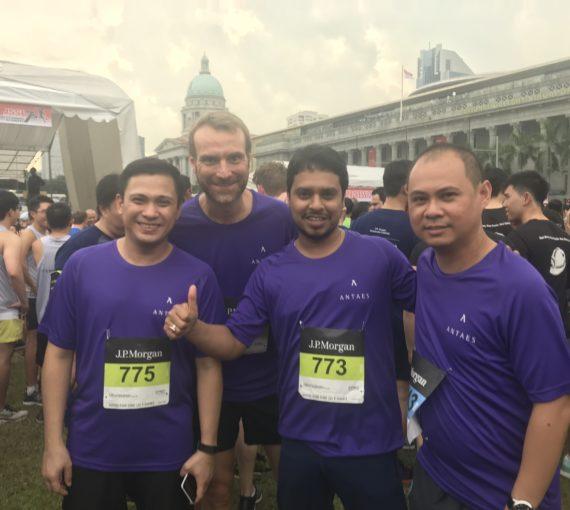 Antaes Asia court pour le J.P. Morgan Corporate Challenge !