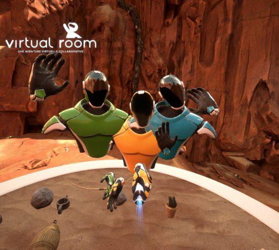 Antaes teste la réalité virtuelle !