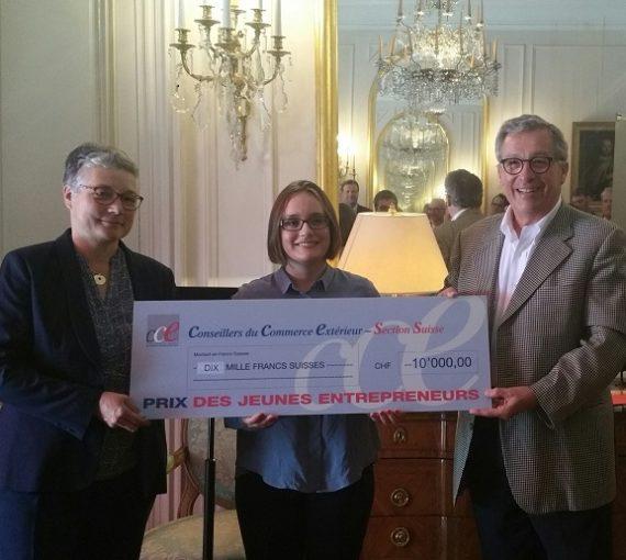 Antaes participe une nouvelle fois au Prix du Jeune Entrepreneur.