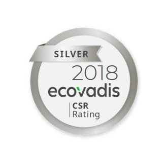 Antaes receives a silver medal for its CSR performance
