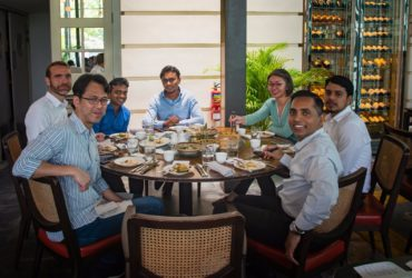 Team Lunch at Singapore!