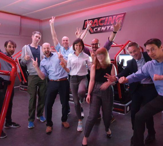 Zurich Team tries car races