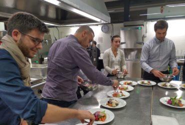 Un cours de cuisine moléculaire pour Antaes