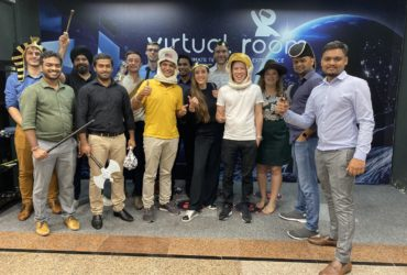 The Antaes Asia Team tried virtual reality