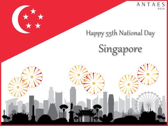 Antaes Asia : 55ème Fête Nationale de Singapour