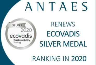 Ecovadis: Antaes confirms the solidity of its CSR policy