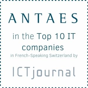 ICT Journal - Genève - Janvier 2021 : Antaes classée dans le Top 10 des plus importantes sociétés IT de Suisse Romande