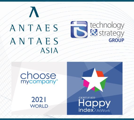 Antaes has been awarded the HappyIndex ® At Work 2021 World label