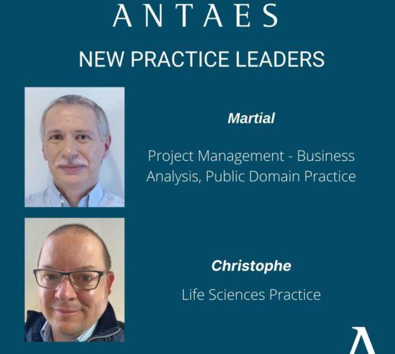 Antaes nomme deux nouveaux Practice Leaders
